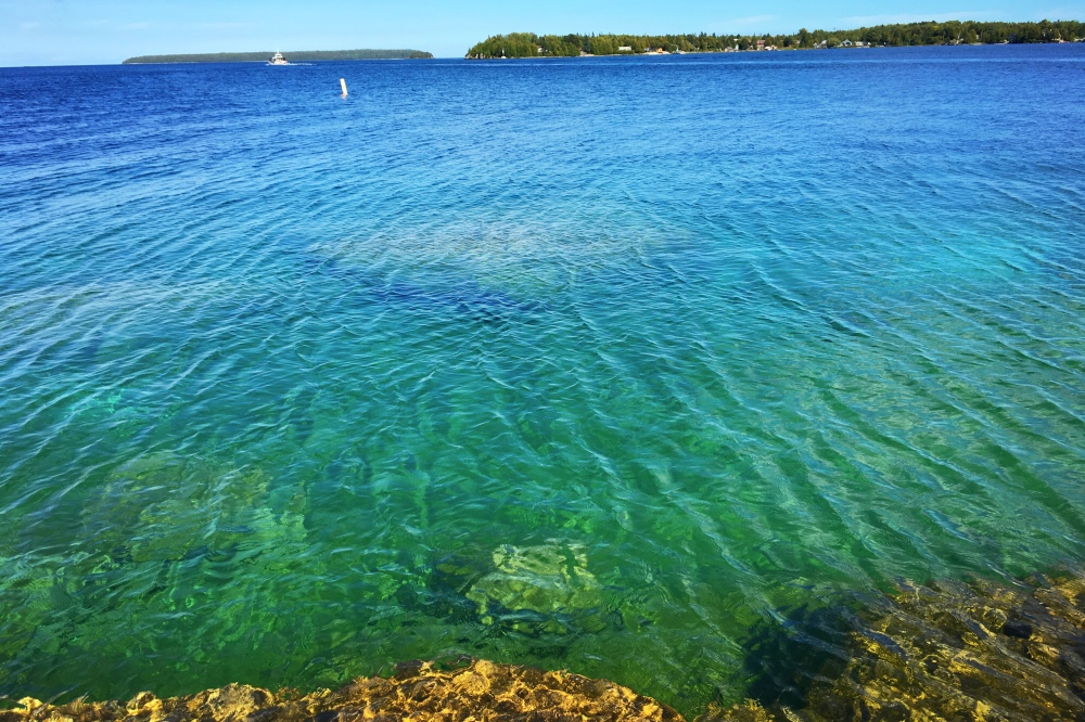 Amazing tobermory waters