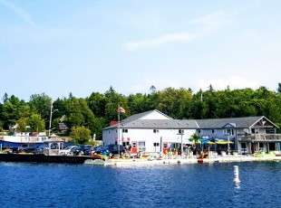 Tobermory Cruise Line Departure Dock
